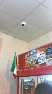 نصب دوربین مداربسته در فروشگاه سوپر هایپر مارکت و مغازه