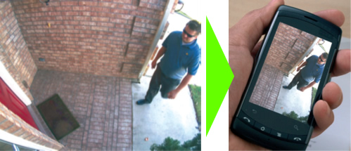 آموزش انتقال تصویر دوربین مداربسته در شیراز 1.