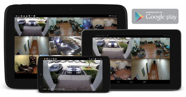 Android-Security-DVR-Viewer-دوربین مداربسته
