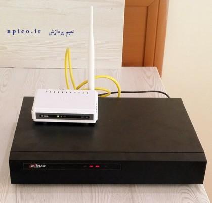 تنظیمات نصب ان وی آر دوربین مداربسته شبکه