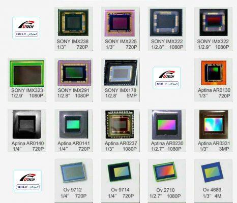 سنسورهای تصویر دوربین AHD و انواع مختلف آن
