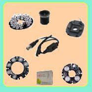 فروش قطعات مونتاژ دوربین و DVR و فروش کابل منو و فیلتر آی ار و دید در شب دوربین و لنز و پیچ و اسپیسر دوربین مدار بسته جهت مونتاژ دوربین