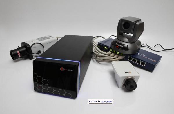 نحوه نصب و راه اندازی دوربین مداربسته شبکه ip camera