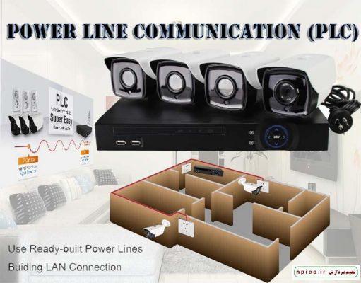 دوربین مداربسته با استفاده از PLC پی ال سی نعیم پردازش NPICO.IR پخش عمده دوربین مداربسته و آموزش