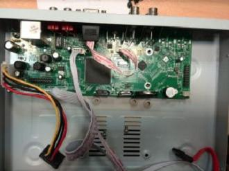 ریست رمز DVR دی وی آر نعیم پردازش چهار کانال شماره 23 فایل فلش