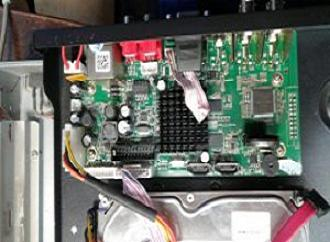 ریست رمز DVR دی وی آر نعیم پردازش چهار کانال شماره 27 فایل فلش