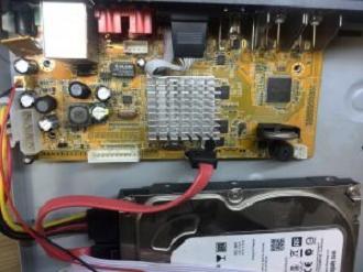 ریست رمز DVR دی وی آر نعیم پردازش چهار کانال شماره 32 فایل فلش