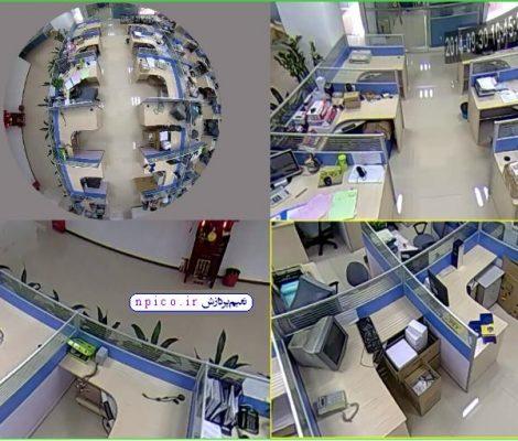 دوربین مداربسته 360 درجه فیش آی وایرلس بیسیم نعیم پردازش پخش عمده npico.ir