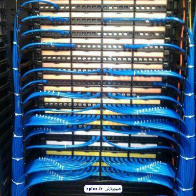 نصب و راه اندازی دوربین مدار بسته شبکه و فیبر نوریی و شبکه نعیم پردازش npico.ir