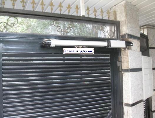 نصب درب برقی پارکینگ در شیراز