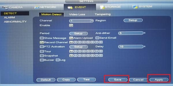 نحوه تنظیمات دوربن مدار بسته شبکه ip داهوا dahua نعیم پردازش آموزش نصب دوربین مدار بسته npico.ir