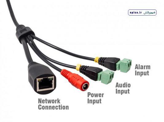 نحوه نصب میکروفن به دوربین مداربسته و شبکه نعیم پردازش پخش عمده و فروش دوربین مداربسته npico.ir