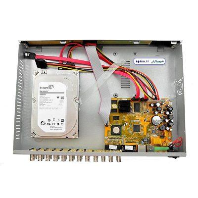 نحوه نصب هارد و طریقه وصل هارد در دی وی آر و nvr dvr دوربین مداربسته نعیم پردازش آموزش نصب