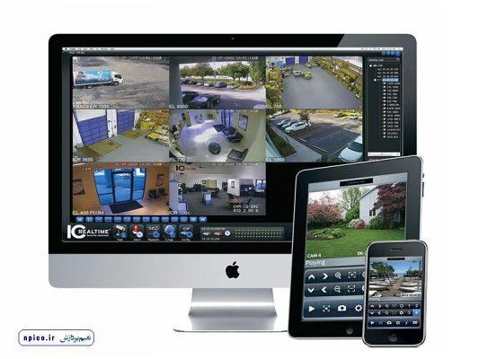نرم افزار انتقال تصویر نعیم پردازش پخش عمده و همکار دوربین DVR و NVR در وبسایت npico.ir