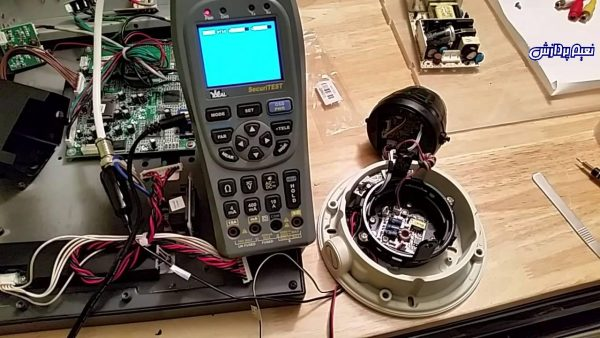 CCTV Repairing تعمیر دوربین مداربسته و آموزش تعمیر دوربین مدار بسته تعویض برد