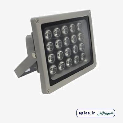 فروش پروژکتور دوربین مدار بسته 15 POWER LED و پخش تجهیزات جانبی مدار بسته نعیم پردازش