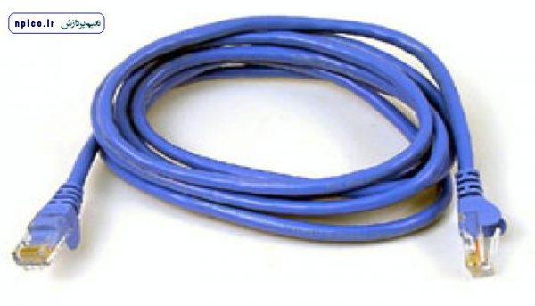پچ کورد آماده کابل شبکه و نحوه سوکت زدن کابل شبکه با آچار